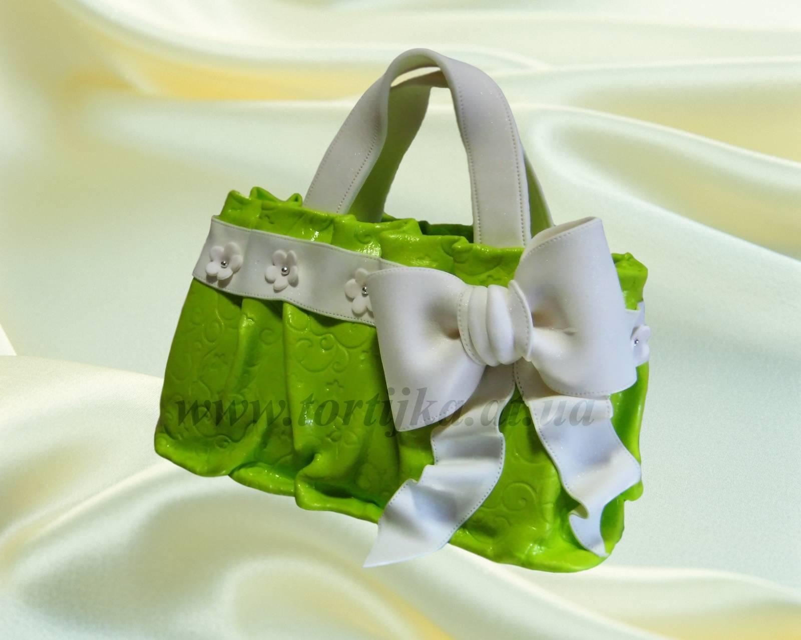 Торт сумочка для девочки сумки