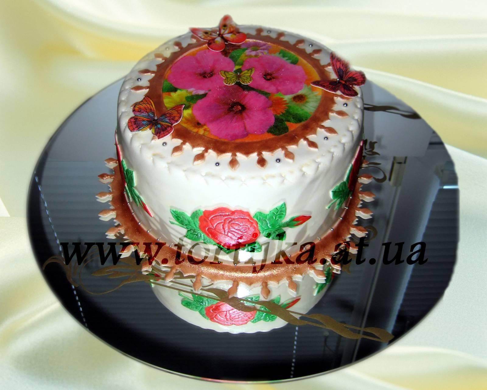Как сделать фото на торте дома? Простой и доступный способ 10