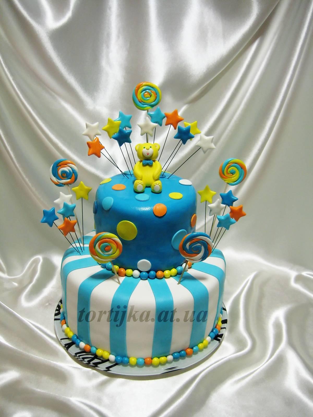 Фото тортиков на год ребенка