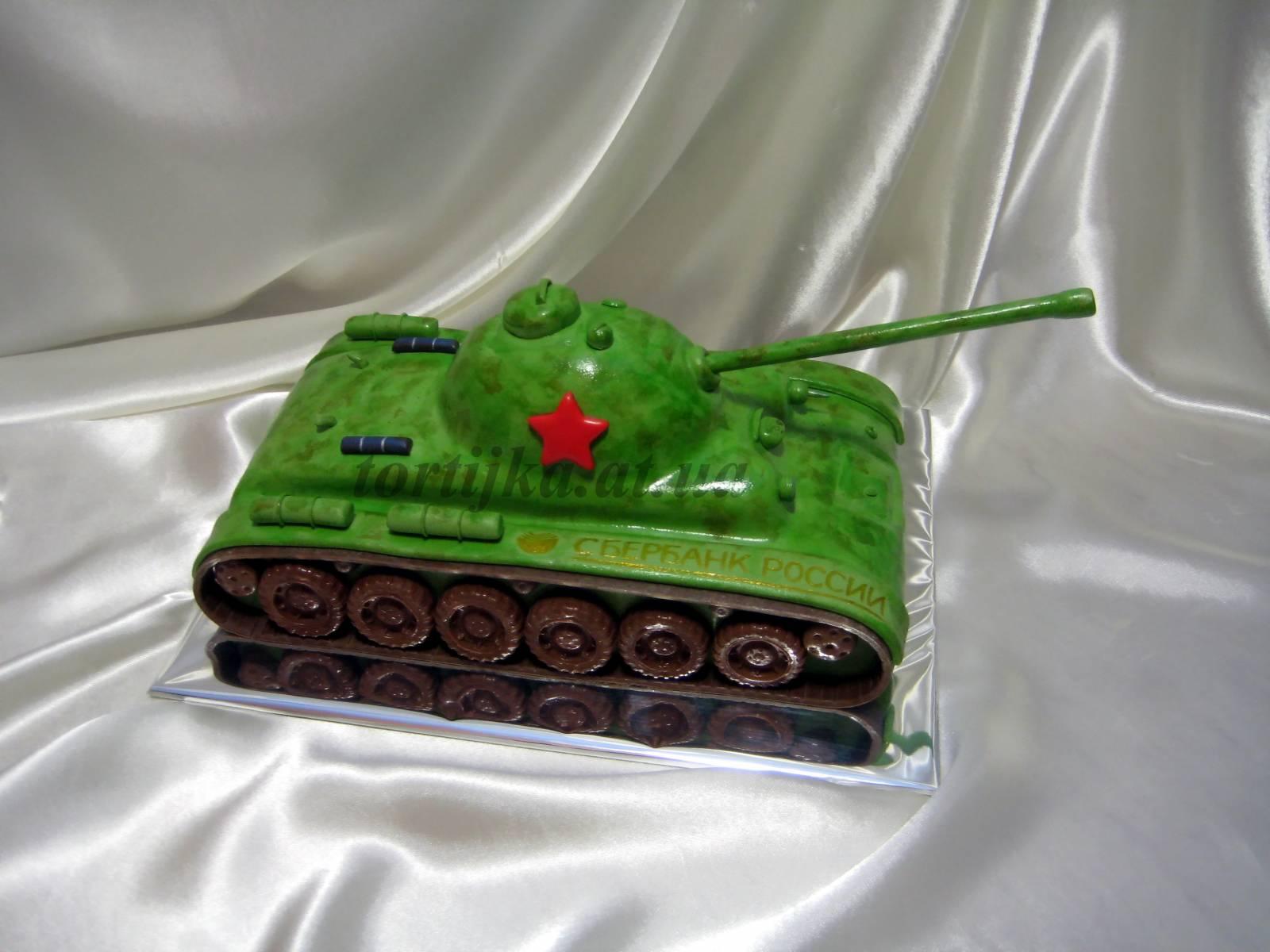 Как сделать торт в виде танка фото