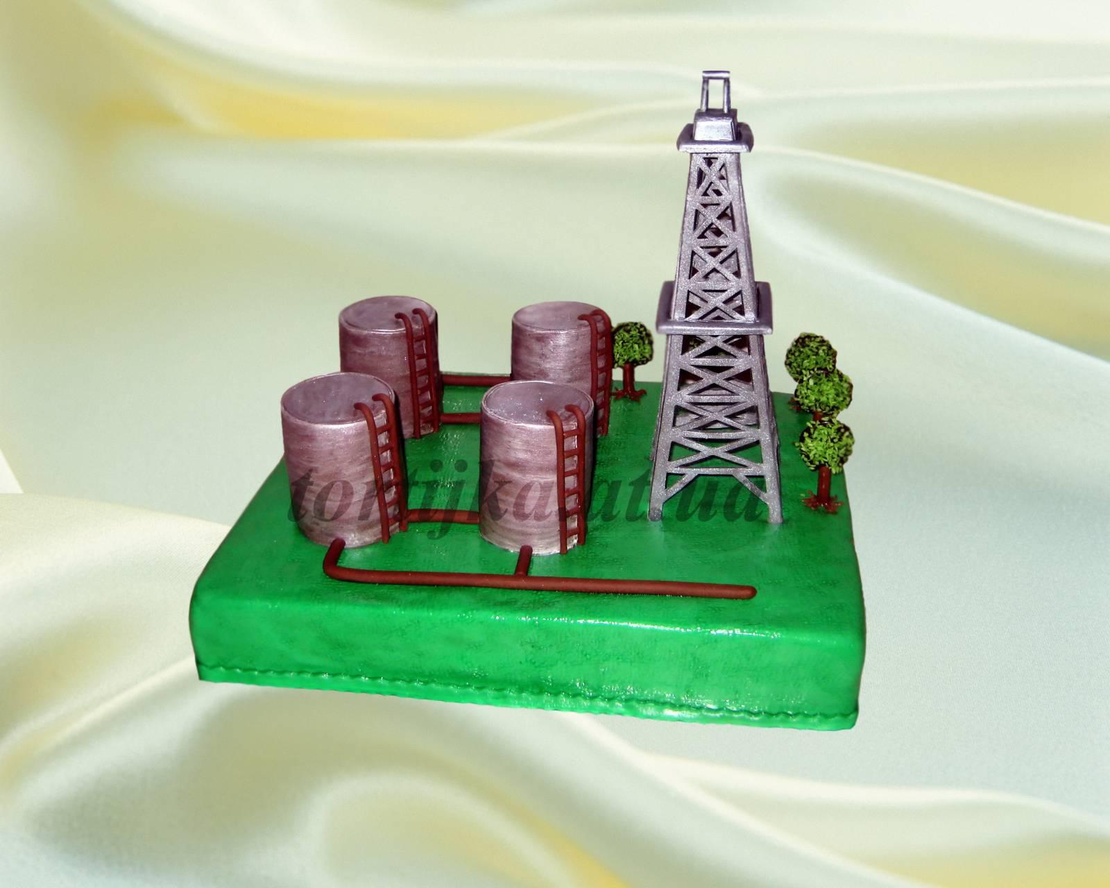 Поделка ко дню газовой и нефтяной промышленности 11