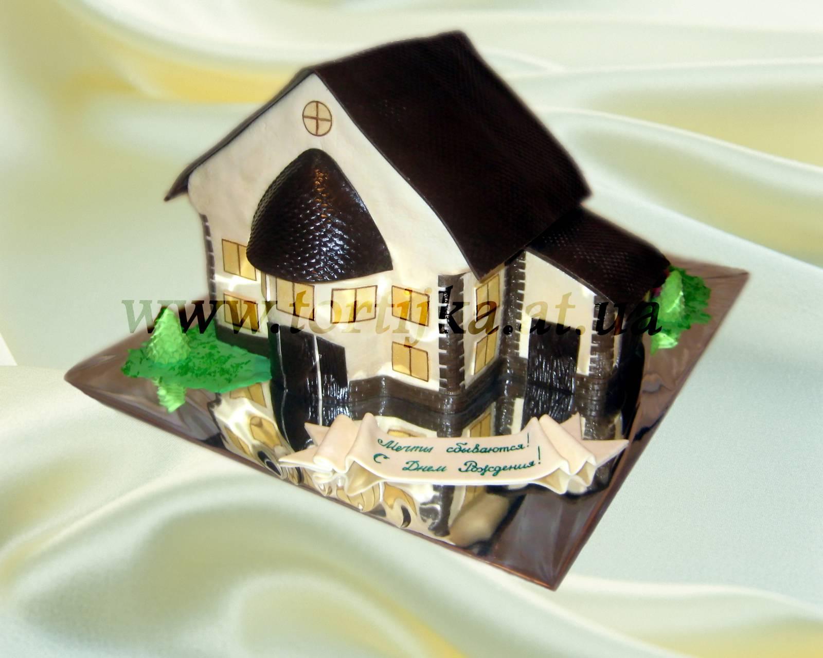 Торт дом как его сделать 944
